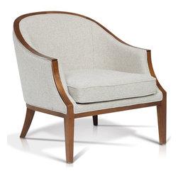 ARTeFAC - KR-8563 Transitional Lounge Chair - KR-8563 Transitional Lounge Chair
