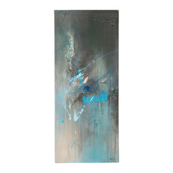 'The Calm Before' Original Painting - Original acrylic abstract painting created on regular style canvas.