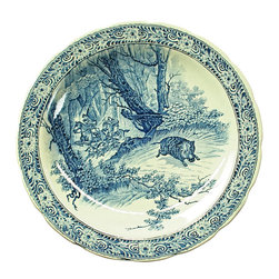 Royal Sphinx Boch - 1970 Delft Plate Windmill Blue/White Royal - Product Details