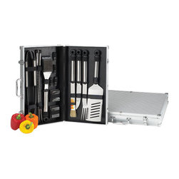 Picnic at Ascot - Stainless Steel 20 pc. Master Grill Tools - Features: