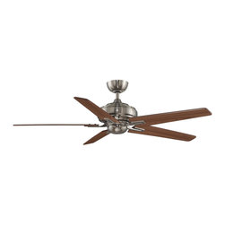 """Fanimation - Fanimation FPD8088PW-NL Keistone Pewter 60"""" Ceiling Fan + Remote Control - Features:"""