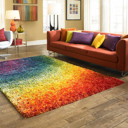 Barcelona Rainbow Shag by Mafi International - Photos by Mafi International