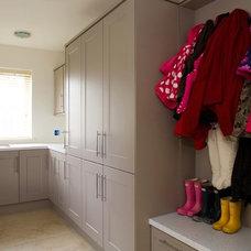 Contemporary Laundry Room Contemporary Utility Room