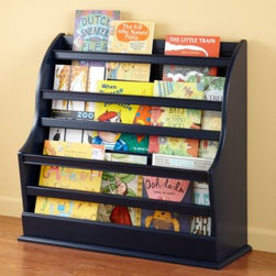 Bin There Floor Book Bin (Midnight Blue) -
