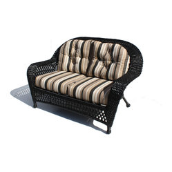 Montauk Outdoor Wicker Loveseat