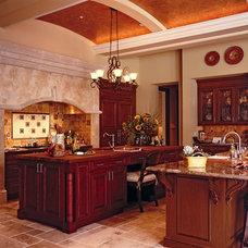 Mediterranean Kitchen Cabinets by Tradewind Designs, Inc.
