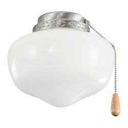 Kichler - Kichler 380064BSS 8 Inch School House Light Fixture - Kichler 380064BSS 8 Inch School House Light Fixt