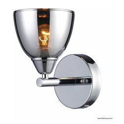 Elk Lighting 10070/1 1 Light Wall Sconce Reflections Collection -