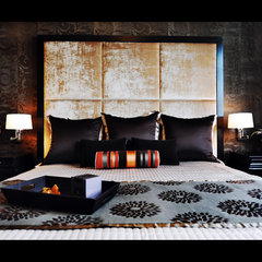 contemporary bedroom by Wintercreative Interior Design : Maika Winter ASID