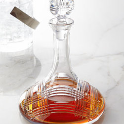 Lauren Ralph Lauren - Lauren Ralph Lauren Glen Plaid Ships Decanter - While I love many of the labels on bottles of booze, I'm not sure that anything looks quite as nice as a decanter filled with scotch — and I'm sure there is some science to it as well. I just appreciate the clean design and plaid detailing on this piece.