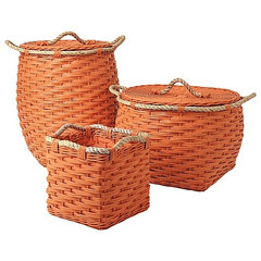 modern baskets by Serena & Lily