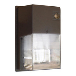 Morris - Mini Wall Pack Fluorescent, 1PL x 42W 120/277V - Mini Wall Packs Fluorescent 1PL X 42W 120V - Mini Electrical Wall Packs provide low-profile, high-output lighting.