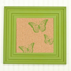 Twelve Timbers - Butterflies Cork Board - Butterflies Cork Board