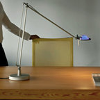 Berenice Table Lamp By Luceplan Lighting - Berenice series by LucePlan is a collection of functional lamps with a slender shape and flexible head.