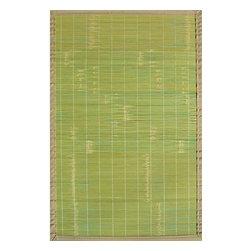 Anji Mountain - Anji Mountain Bamboo Rugs Key West 6' x 9' Area Rugs - Anji Mountain Bamboo Rugs Key West 6' x 9' Area Rugs