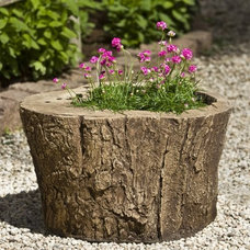Contemporary Outdoor Planters by Hayneedle