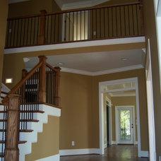 Traditional Staircase by Howard Custom Builders/Renovators