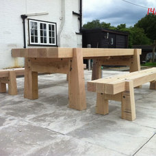 Traditional Outdoor Benches by Colin Stevens