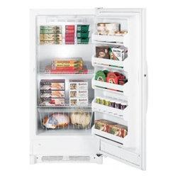 GE - FUF14SVRWW 13.7 Cu. Ft. Frost-Free Upright Freezer With Electronic Controls  Sli - GE 137 Cu Ft Frost-Free Upright Freezer