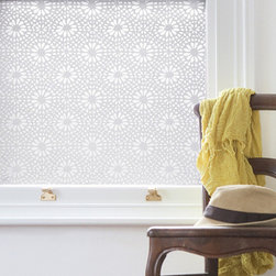 Otto Window Film - This window film gives total privacy while letting full light shine through. Easy to remove and no residue.