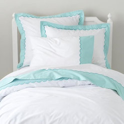 Extended Stay Duvet Cover, Teal