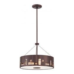 Indoor Decor Copper Color Hanging Drum Pendant Lighting - Indoor Decor Copper Color Hanging Drum Pendant Lighting