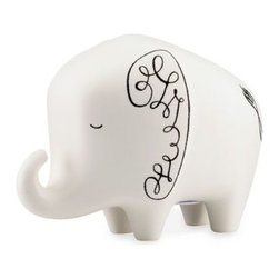 Kate Spade New York - kate spade new york Woodland Park Elephant Bank - kate spade new york's Woodland Park collection takes inspiration from Seattle's city zoo of the same name. This playful bank is crafted from fine ceramic and designed to resemble an elephant.