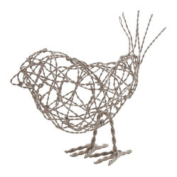 Nickel Scribble Bird, Large