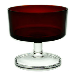 Lavish Shoestring - Consigned 6 Red Wine Glasses by Arcoroc, Vintage French - This is a vintage one-of-a-kind item.
