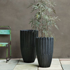 Contemporary Outdoor Planters by West Elm