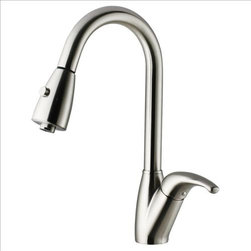Vigo - VIGO VG02017ST Kitchen Faucet - Purchase a VIGO faucet that is sure to accentuate your kitchen design for years to come.