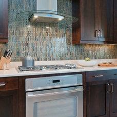 Eclectic Kitchen by Romanza Interior Design