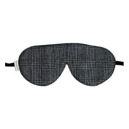 Frontgate - elizabethW Collection Wool Sleep Mask - Shields the eyes from light. One size fits all. Lightweight, soft, and comfortable. Caress your eyes and de-stress with the elizabethW Collection Wool Sleep Mask. Enter a quiet zone of the mind to aid in falling and staying asleep.  .  . . Made in the USA.