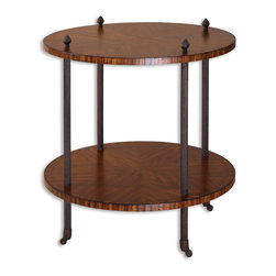 "24125 Reinhardt, Accent Table by Uttermost - Get 10% discount on your first order. Coupon code: ""houzz"". Order today."