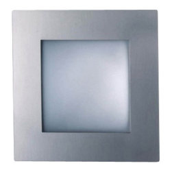 "Decor Walther - Decor Walther Square 40 Ceiling Light - The Square 40 ceiling light has been designed and made by Decor Walther.   The modern and versatile wall lamp Square by Decor Walther has a  simple  square basic shape and a matt white, satined glass diffuser. The  frame  is available in three versions: Chrome, satined nickel and matt  gold.  Square is available in six sizes, ranging from 13 cm edge length  to half  a meter. Square can also installed as a wall lamp.  Product Details:  The Square 40 ceiling light has been designed and made by Decor Walther.   The modern and versatile wall lamp Square by Decor Walther has a  simple  square basic shape and a matt white, satined glass diffuser. The  frame  is available in three versions: Chrome, satined nickel and matt  gold.  Square is available in six sizes, ranging from 13 cm edge length  to half  a meter. Square can also installed as a wall lamp. Details:                                     Manufacturer:                                      Decor Walther                                                                  Designer:                                     In House Design                                                                  Made in:                                     Germany                                                                  Dimensions:                                      Length: 15.75"" (40 cm) X Width: 15.75"" (40 cm) X Depth: 3.94"" (10 cm)                                                                  Light bulb:                                      1 x R7s Max 150W                                                                  Material:                                      Metal"