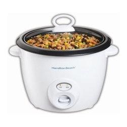 Hamilton Beach - Hamilton Beach 20 Cup Rice Cooker - Features: