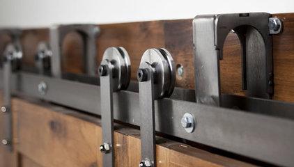 Heavy Duty Bypass Barn Door Hardware System | Rustica Hardware