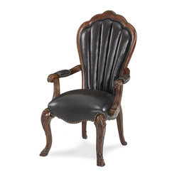 Palace Gates Arm Chair  - Leather