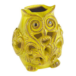 Solar Owl - This solar-powered owl is the cutest thing ever. It would add a touch of whimsy to the porch.