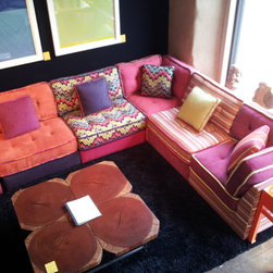 LOUNGE by Robert Petril for Lazar - My LOUNGE Modular Seating Collection showing at Dwelling Home Philadelphia.