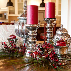 Eclectic Holiday Decorations by CHRISTY ROMOSER DESIGN