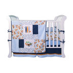 Trend Lab - Trend Lab Surfs Up 4 Piece Crib Bedding Set - 106550 - Shop for Bedding Sets from Hayneedle.com! Hang ten dude with the Trend Lab Surfs Up 4 Piece Crib Bedding Set featuring surfboard palm tree and sea shell patterns in blue and navy that stand out on a crisp white background. This baby bedding ensemble includes a lightweight quilt/comforter a coordinating bumper pad a crib skirt (or dust ruffle) and a matching fitted sheet.About Trend LabBegun in 2001 in Minnesota Trend Lab is a privately held company proudly owned by women. Rapid growth in the past five years has put Trend Lab products on the shelves of major retailers and the company continues to develop thoroughly tested high-quality baby and children's bedding decor and other items. With mature professionals at the helm of this business Trend Lab continues to inspire and provide its customers with stylish products for little ones. From bedding to cribs and everything in between Trend Lab is the right choice for your children.