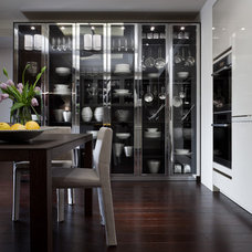 Eclectic Kitchen Cabinetry by SieMatic Mobelwerke USA