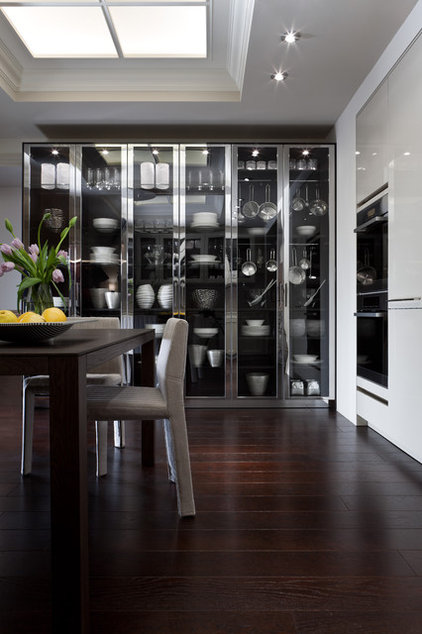 Eclectic Kitchen Cabinets by SieMatic Mobelwerke USA