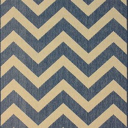"Nu Loom - Indoor/Outdoor Traditional 5'3""x7'9"" Rectangle Blue Area Rug - The Traditional area rug Collection offers an affordable assortment of Indoor/Outdoor stylings. Traditional features a blend of natural Blue color. Machine Made of 100% Polypropylene the Traditional Collection is an intriguing compliment to any decor."