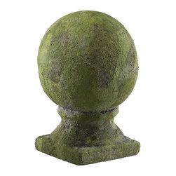 Cyan Design - Cyan Design Sculptural Small Mossy Garden Sphere X-13010 - Small Mossy Sphere