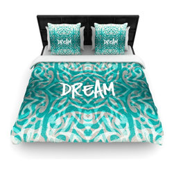 "Kess InHouse - Caleb Troy ""Tattooed Dreams"" Cotton Duvet Cover (Twin, 68"" x 88"") - Rest in comfort among this artistically inclined cotton blend duvet cover. This duvet cover is as light as a feather! You will be sure to be the envy of all of your guests with this aesthetically pleasing duvet. We highly recommend washing this as many times as you like as this material will not fade or lose comfort. Cotton blended, this duvet cover is not only beautiful and artistic but can be used year round with a duvet insert! Add our cotton shams to make your bed complete and looking stylish and artistic!"