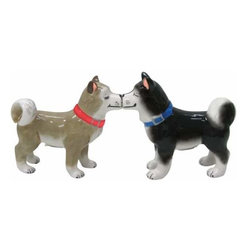 WL - 3 Inch Kitchenware Utensil Husky Dog Figurines Salt and Pepper Shakers - This gorgeous 3 Inch Kitchenware Utensil Husky Dog Figurines Salt and Pepper Shakers has the finest details and highest quality you will find anywhere! 3 Inch Kitchenware Utensil Husky Dog Figurines Salt and Pepper Shakers is truly remarkable.