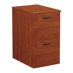 OSP Furniture - Napa Mobile File Pedestal w 2 Drawers - Commercial grade. Two file drawers with one lock. Full-extension, steel ball-bearing drawer slides for smooth operation. Letter and legal filing. Pre installed all-metal filing hardware. Fifth caster enhances stability. GREENGUARD Indoor Air Quality Certified. No assembly required. Made from wood. Warranty: Ten years. 14 in. W x 22 in. D x 27 in. H (70.40 lbs.)Napa is built to support todays businesses with solutions for offices, conference and reception areas that provide long-lasting furnishings value. From the executive and managers offices, to multi-person configurations.