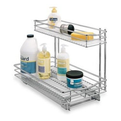 Lynk - Lynk 11-Inch x 18-Inch Deep Roll-Out Under-Sink Drawer - This roll-out under-sink drawer will maximize your storage space and help keep things organized in your kitchen, bathroom, laundry room or garage.